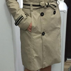 Trench Bad Axel, bumbac, XS/S - Trench dama, Marime: S, Culoare: Din imagine