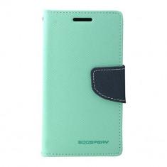 Toc My-Fancy Samsung Galaxy Core Prime G360 Mint/Albastru - Husa Telefon Atlas, Verde, Textil