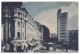 % carte postala-LUNA BUCURESTILOR 9 mai-9 iunie 1935-Piata Teatrului, Necirculata, Printata
