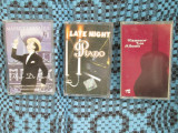 MAURICE CHEVALIER / LATE NIGHT PIANO / FLAMENCO LOS ALHAMA - 3 CASETE AUDIO!