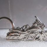 Breloc  model moto * HARLEY-DAVIDSON * metal + cutie simpla cadou