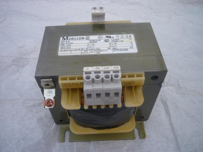 TRANSFORMATOR MONOFAZAT 500VA, CIRCUIT PRIMAR 400V , SECUNDAR 230V
