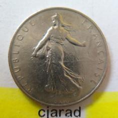 Moneda 1 Franc - Franta, 1961 *cod 1707, Europa