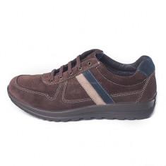 Pantofi pentru barbati din piele, marca Grisport (GR42404P1) - Pantof barbat Grisport, Marime: 43, 45, Culoare: Maro, Piele naturala