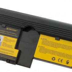 1 PATONA | Acumulator laptop pt IBM ThinkPad X60 Tablet PC X61 Tablet PC 40Y8314 - Baterie laptop PATONA, 4400 mAh
