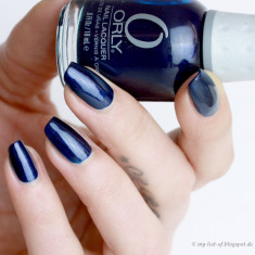 OJA ALBASTRA ORLY NAIL POLISH -IN THE NAVY-18 ML - Lac de unghii