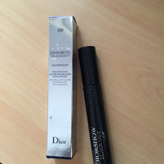 Mascara Diorshow Blackout Waterproof - Rimel Christian Dior, Negru