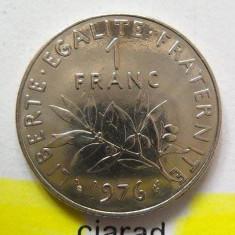 Moneda 1 Franc - Franta, 1976 *cod 1713, Europa