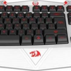 Tastatura Redragon Asura White, USB, gaming, iluminata