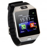 Smart Watch DZ09 Bluetooth ceas inteligent smartwatch SIM, camera, card, Alte materiale, watchOS