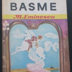Volum - Carti ( 984 ) - BASME - Mihai Eminescu ( A1 ) - Carte Basme