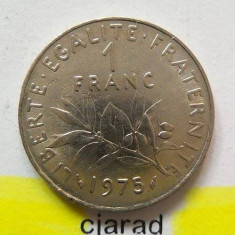Moneda 1 Franc - Franta, 1975 *cod 1712, Europa