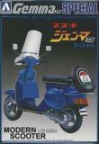 Macheta Kit Scooter Suzuki Gemma 50 - AOSHIMA scara 1:12, 1:72