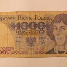 CY - 1000 zlotych (zloti) 1979 Polonia