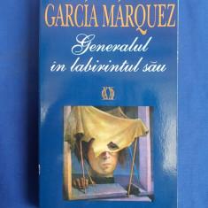 GABRIEL GARCIA MARQUEZ - GENERALUL IN LABIRINTUL SAU - RAO - 1996 - Roman