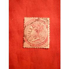 Timbru 1 Penny Jamaica 1883 ,Regina Victoria ,stampilat