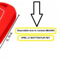Husa silicon protectie cheie 2/3 butoane dedicata Opel CORSA / ASTRA / VECTRA