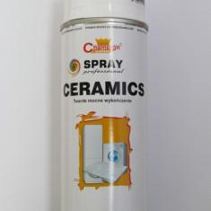 Spray vopsea Profesional CHAMPION ALB LUCIOS CERAMIC 400ml - Vopsea auto