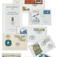 PVC ambalaje Lindner pentru telephone cards - 100 buc. packet