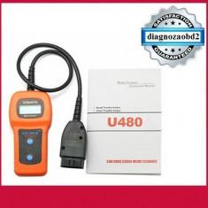 Scaner pt. diagnoza auto Memoscan U480 camioane si turisme – tester OBD2