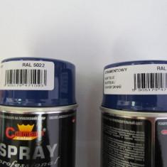 Spray vopsea Profesional CHAMPION RAL 5022 Albastru 400ml - Vopsea auto