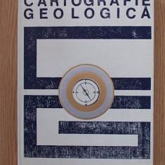 CARTOGRAFIE GEOLOGICA- S. PAULIUC, CARTONATA