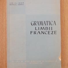 GRAMATICA LIMBII FRANCEZE, CLIMER, SARAS - Curs Limba Franceza