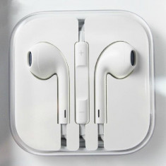 Casti compatibile iPhone 5 5C EarPods - Handsfree GSM, iPhone 5/5S