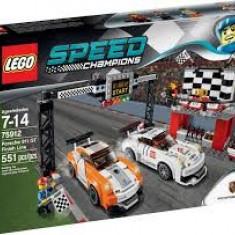 Vand LegoSpeedChampions-75912Porsche 911 GT Finish Line, sigilat, 551piese, 7-14ani - LEGO Racers