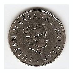 Brunei 20 Sen 1987 - Hassanal Bolkiah (1st portrait) 23.5 mm KM-18, Asia