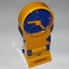 Radio + ceas + alarma de colectie personalizat CAMEL - stare foarte buna - Radio cu ceas