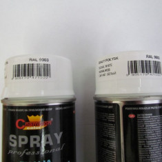 Spray vopsea Profesional CHAMPION RAL 9003 Alb LUCIOS 400ml - Vopsea auto