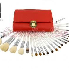 Set 26 Pensule Machiaj din par natural Fraulein38 Pensule profesionale - Pensula make-up