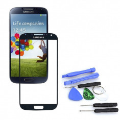 Sticla display fata pentru Samsung Galaxy S5 negru + kit scule