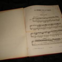 Partituri pentru pian vechi (partitura pian, muzica) antebelice si interbelice
