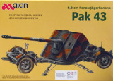 + Macheta 1/35 Alan 35020 - German Pak 43  +