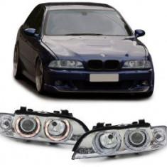 Far xenon BMW seria 5 E39 95-00 XENON D2S H7 cu motor CHROM - Balast xenon