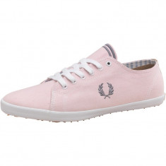 Tenesi Fred Perry Mens Classic Kingston Oxford Plimsolls marimea 41 - Tenisi barbati Fred Perry, Culoare: Roz, Textil