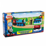 Fisher Price Thomas The Tank Engine and Friends Wooden Railway Starter Set - NOU