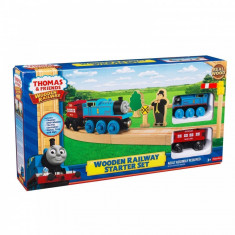 Fisher Price Thomas The Tank Engine and Friends Wooden Railway Starter Set - NOU - Trenulet