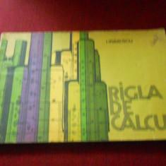 I IRIMESCU - RIGLA DE CALCUL - Carte Matematica