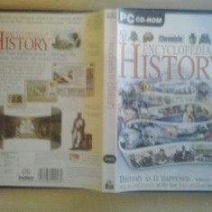 PC CD-ROM - Encyclopedia of History (GameLand )