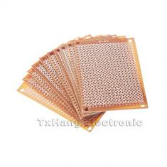 5 x 7 cm DIY Prototype Paper PCB fr4 Universal Board - 2 bucati (FS00762)