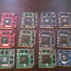 Lot 19 x placi video Laptop AMD si Nvidia MXM2 8600gt/8400/6600 Defecte! - Placa video laptop