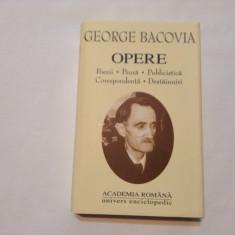 OPERE - GEORGE BACOVIA (ACADEMIA ROMANA, 2001) Editie de lux