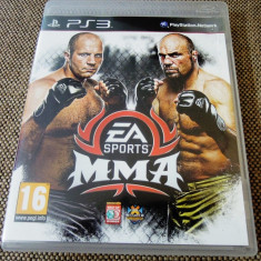 Joc EA Sports MMA, PS3, original, alte sute de jocuri! - Jocuri PS3 Ea Sports, Sporturi, 12+, Multiplayer