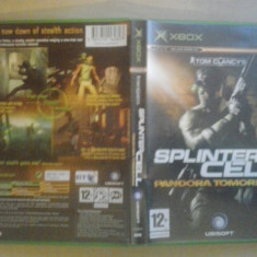 Tom Clancy Splinter Cell- Pandora Tomorrow - XBox (Comp XBox 360) - Jocuri Xbox, Shooting, 16+, Multiplayer