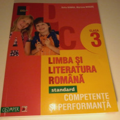 Limba si literatura romana cls 3. Competente si performanta -Sofia Dobra - Manual scolar paralela 45, Clasa 3, Paralela 45