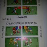 Romania 1984 Campionatul european de fotbal 2 colite MNH LP 1103 - Timbre Romania, Nestampilat