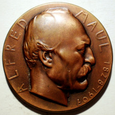 5.190 MEDALIE SPORT ALFRED MAUL MENS SANA IN CORPORE SANO 1907 51mm, Europa